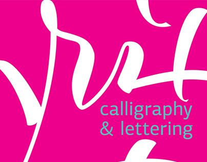 Сalligraphy & lettering