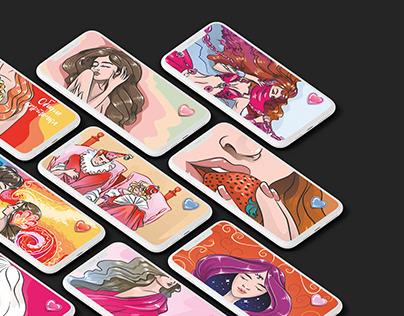 Иллюстрации для игры