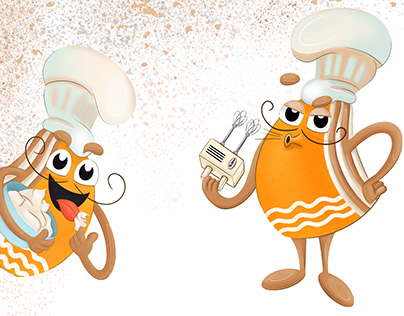CHARACTERS design for bakery