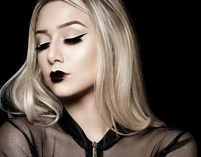 Make-Up-Look #gothicgirl