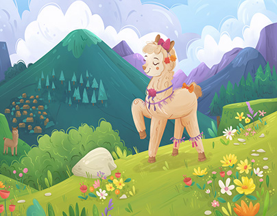 Alpaca Pati's Fancy Fleece | Picturebook