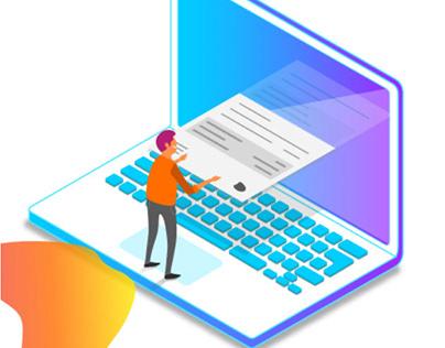 Página de Conta Online da Oi (e-care)