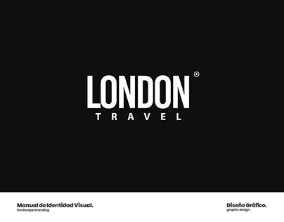 Design · Visual ID | London Travel Agency 2019