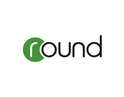 Logo and corporate identity for bank Round