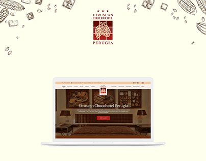Website Restyling Mockup | Chocohotel Perugia
