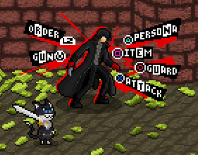 Persona 5 Battle Pixel