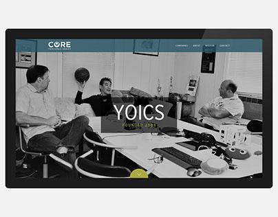 Core Ventures Group Website