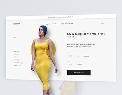 Product Page Design UIUX Shopify