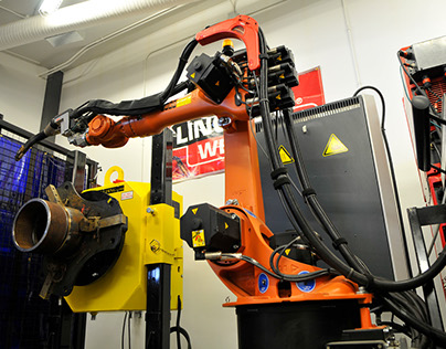 B-Pressure Robotic Welding Cell