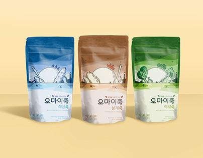 Porridge pouch package