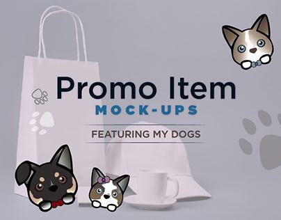 Promotional Items Mock-ups