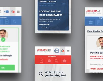 Jobfinder Matchmaking Website