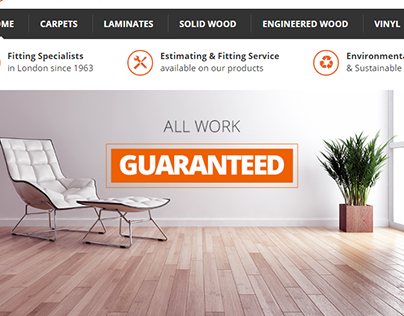 Woodworx Flooring - New Web Design! (e-commerce site)