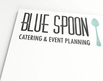 Blue Spoon Logo Design
