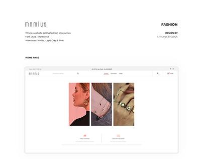 mnmlus - Website