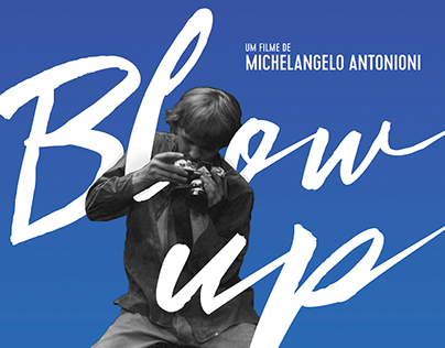 Blow Up - Reedition Brazilian Poster