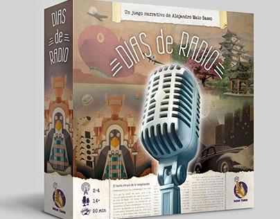 """Edición y diseño gráfico del juego """"Días de Radio"""""""
