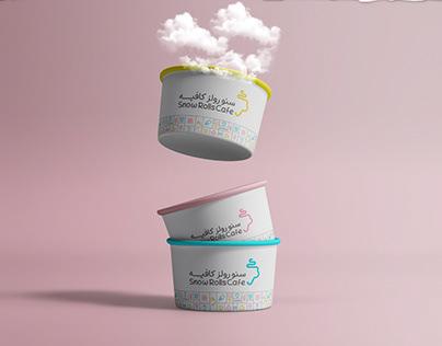 Ice cream & coffeeShop identity