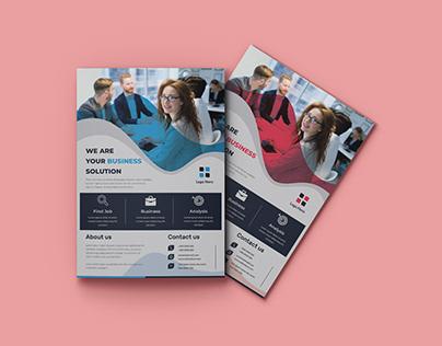 Corporate Business Promotion flyer Design
