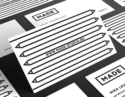 Branding identity for MADE design studio