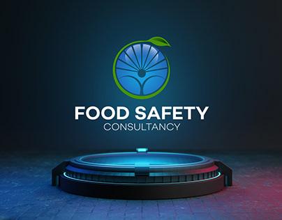 Food safety consultancy Branding logo