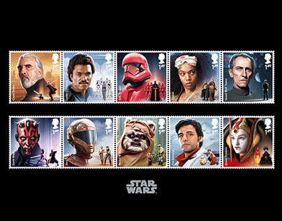 Royal Mail STAR WARS™ Stamps 2019