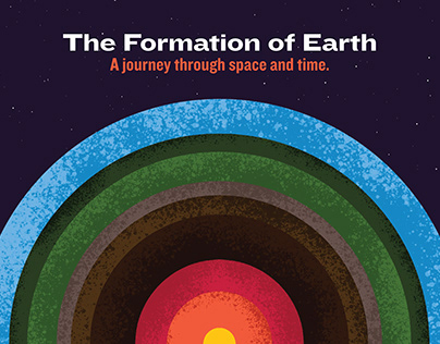 The Formation of Earth - Web Design