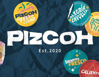 PizcoH - Brand Identity