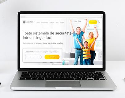Agentex - Landing Page