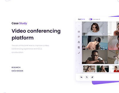 Video conferencing platform - Case Study