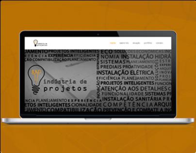 Indústria de Projetos - Layout e Desenvolvimento Web