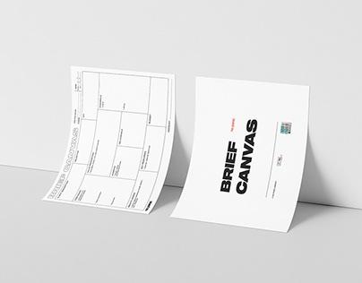 Brief canvas - freebie