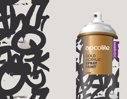 Aerosol Spray paint packaging