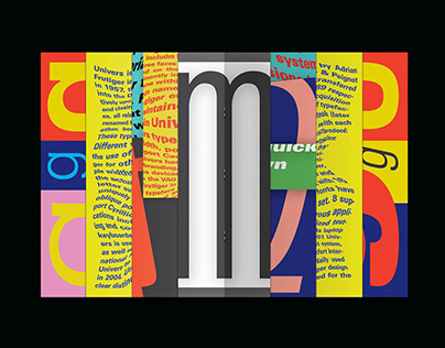 UNIVERS TYPEZINE - Typographic Zine