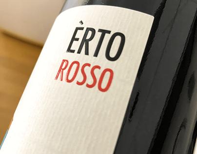 Èrto, wine label design