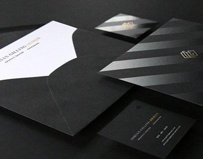 Adrian Gilling Design: Personal Identity Materials