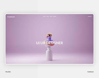 Roman Sculpt 3D Model Blender3D (UI UX Design Concept)