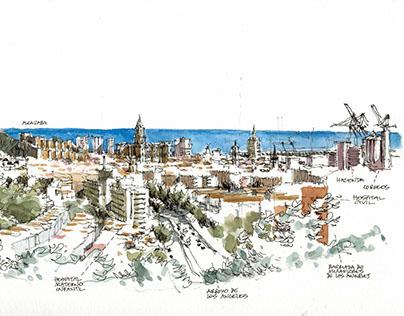 Málaga. Panoramas