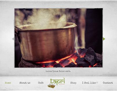 Tapri - the tea house, Website