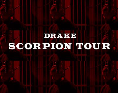 Drake Scorpion Tour - UI/UX Design Concept