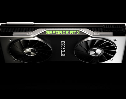 nVidia GeForce RTX 2080 Product renders