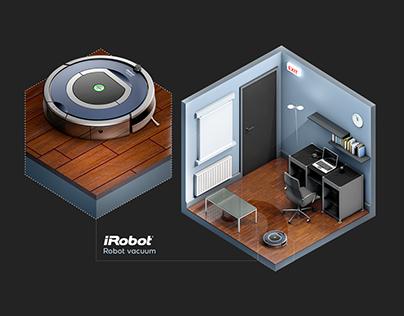 iRobot - Isometric Office
