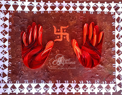 SHUBH - PAPER QUILLING ARTWORK