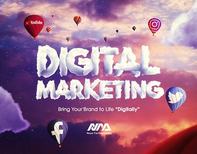 Naya Technomedia Dubai Social Media