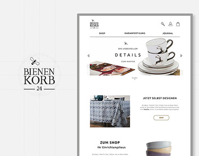 Corporate Design for OnlineShop