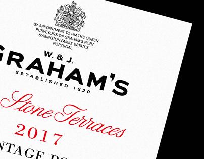 Graham's The Stone Terraces 2017 Vintage Port