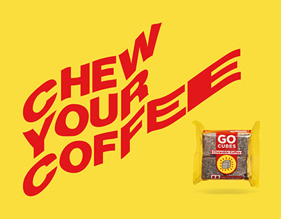 GO CUBES Chewable Coffee Landing Page
