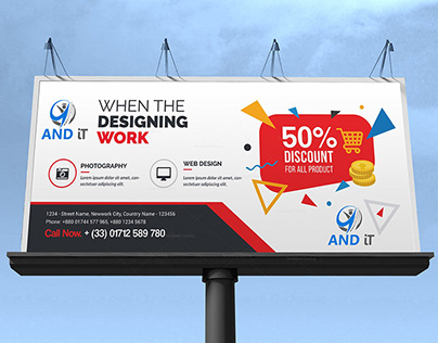 Billboard Design | Banner Design | Graphic Design