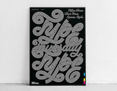 TypeThursday Bucharest — Poster