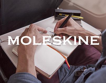 Moleskine Voyageur Notebook / storyboard & sketches